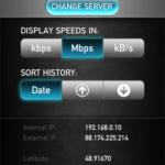 Testez le débit de votre connexion mobile avec Speedtest.net Mobile ! 3