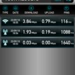 Testez le débit de votre connexion mobile avec Speedtest.net Mobile ! 5