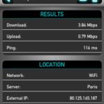 Testez le débit de votre connexion mobile avec Speedtest.net Mobile ! 7