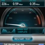 Testez le débit de votre connexion mobile avec Speedtest.net Mobile ! 10