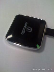 La diode est verte : la batterie est rechargée.