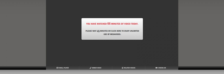 Comment contourner la limite de temps de Megavideo 1