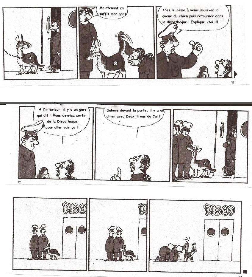 [BD Humour] - Un chien policier vraiment spécial ... 2