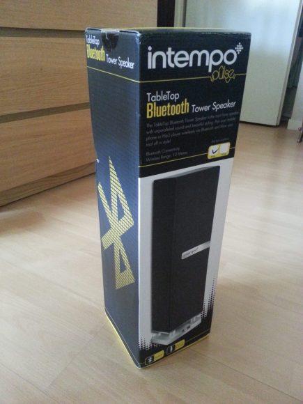 Test de l'enceinte bluetooth Intempo TableTop iTower
