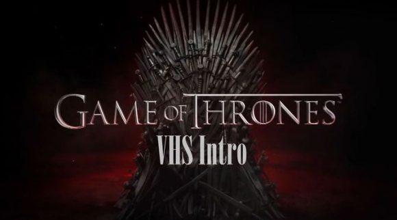 Le générique de Game of Thrones version années 80