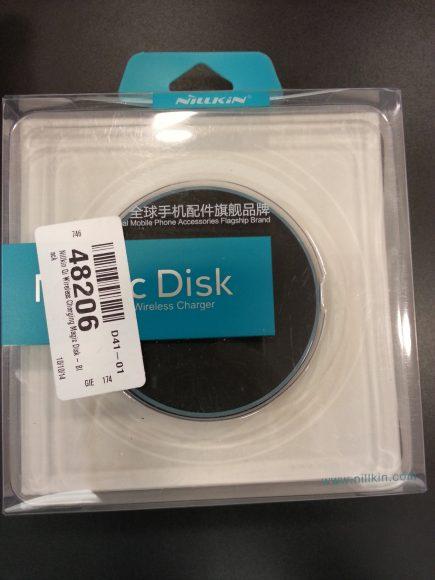 Unboxing - Plaque de chargement sans fil Nilkin Qi noire