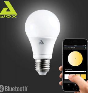 Ampoule Awox SmartLED contrôlée par smartphone via bluetooth