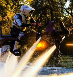 Star Wars Speeder Bike Jetovator